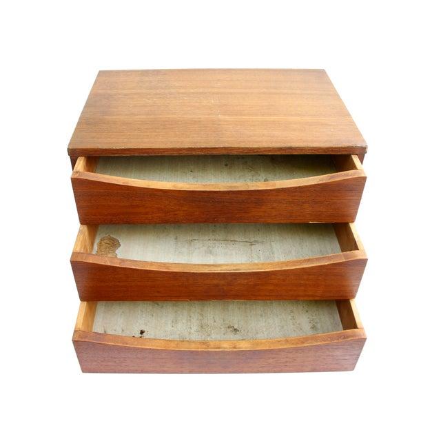 Arne Vodder Teak File Box Desk Organizer - Image 4 of 5