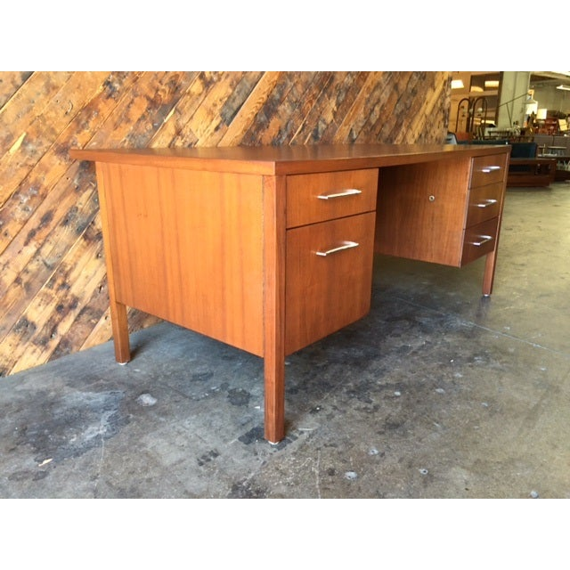 Mid-Century Executive Reception Desk - Image 6 of 6