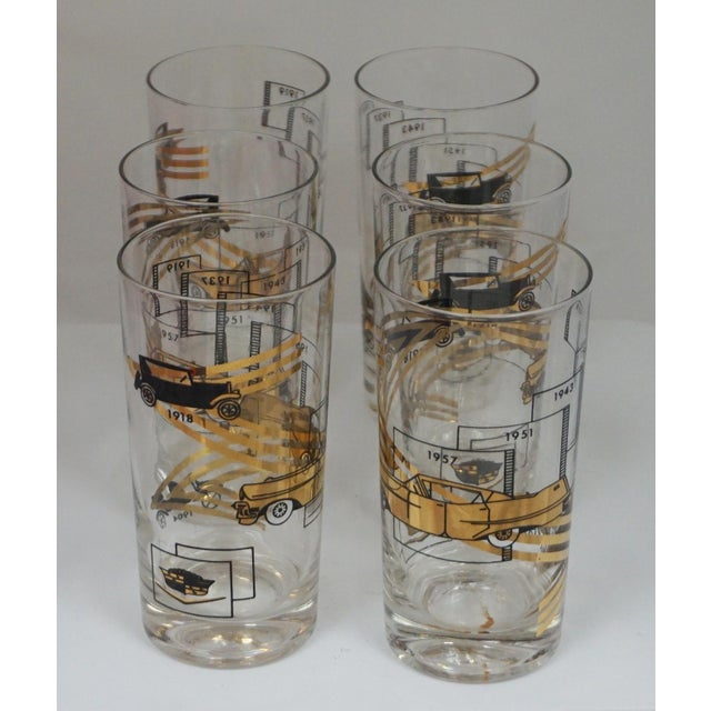 Glass Cadillac Cocktail Glasses For Sale - Image 7 of 7