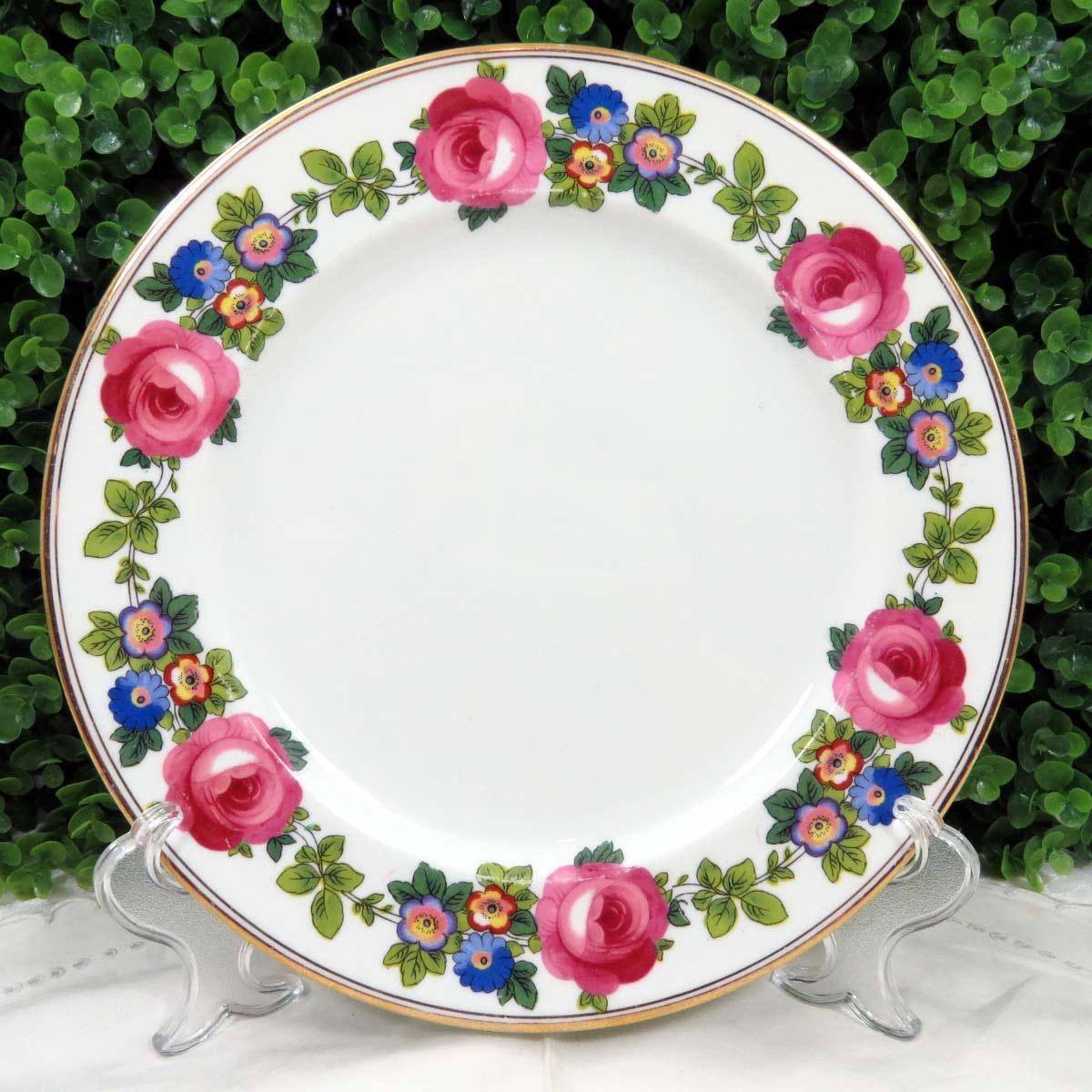 Vintage Mismatched Fine China Dinner Plates - Set of 8 - Image 5 of 12 & Vintage Mismatched Fine China Dinner Plates - Set of 8 | Chairish