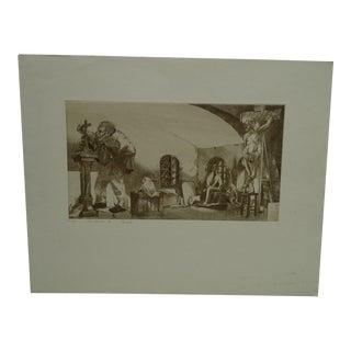 "Perry Macon Oliver ""Via Crucis Xi"" Print"