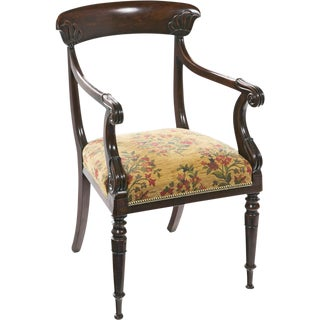 19th Century Egyptian Revival Armchair For Sale