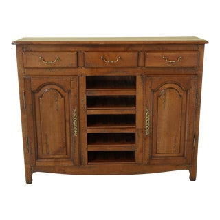Pierre Dux Country Cherry French Wine Buffet Cabinet For Sale