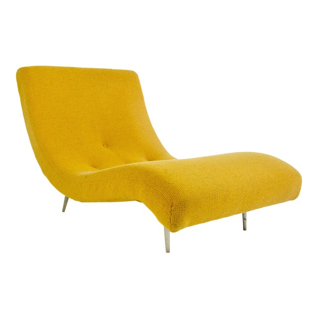 Adrian Pearsall for Craft Associates Chaise Lounge For Sale
