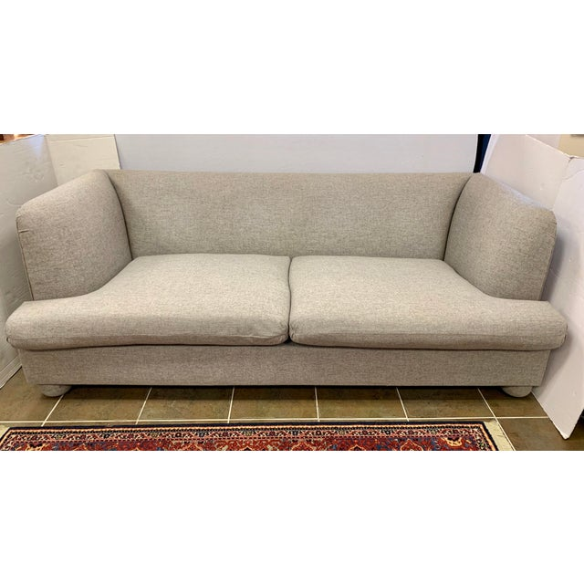2010s John Hutton for Donghia Gray Sofa For Sale - Image 5 of 9