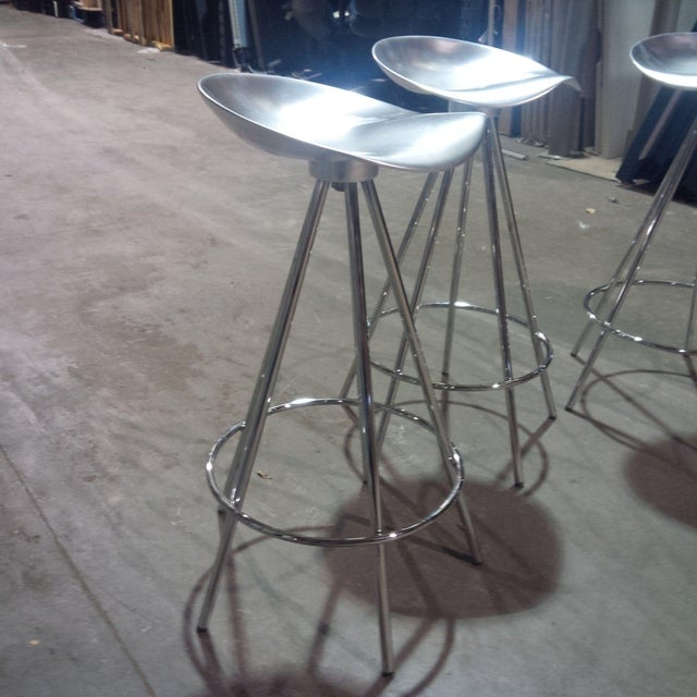 Knoll Knoll Jamaica Counter Stools by Pepe Cortes - Set of 4 For Sale - Image 4 of 6