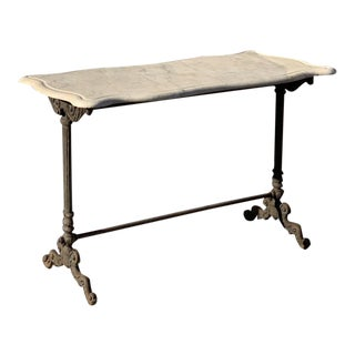 Antique 19th Century French Bistro Table For Sale