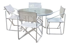 Image of White Patio and Garden Furniture
