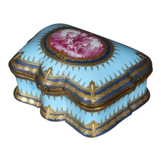 19th Century Sevres Box For Sale