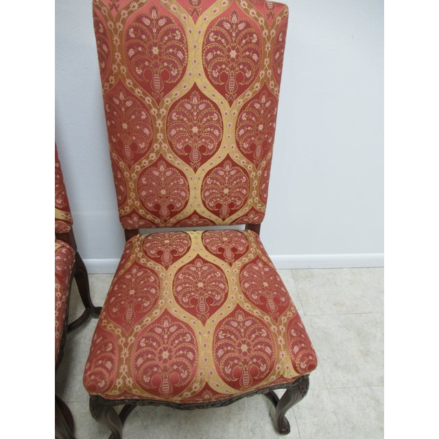 Fremarc Fremarc Designs Country French Walnut Dining Chairs - a Pair For Sale - Image 4 of 12