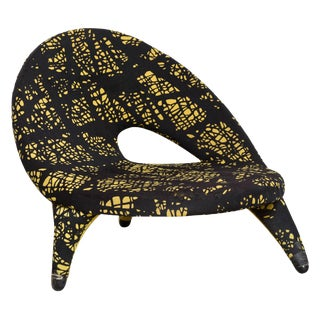 Arabesque Organic Shape Chair Designed by Folke Jansson, Sweden For Sale