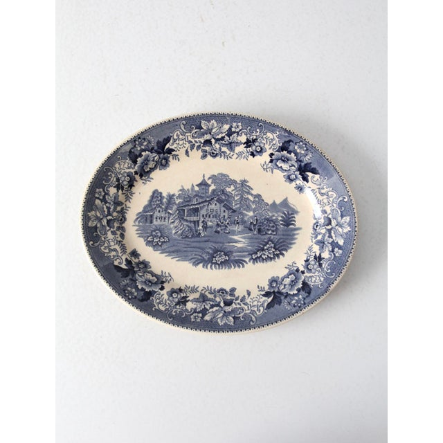 Thomas Hughes & Son Ironstone Platter For Sale - Image 9 of 9