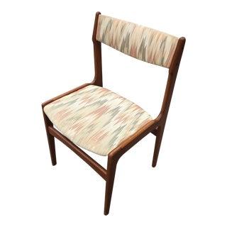 Mid Century Modern Danish Teak Chair For Sale