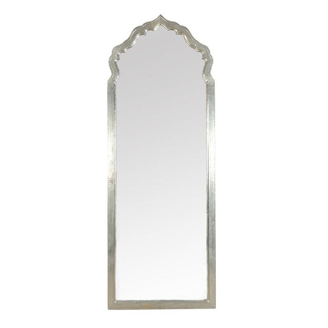 Antiqued Silver Mirror Frame - Image 1 of 2