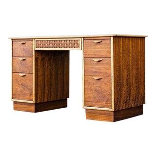 Vintage Mid-Century Lane Furniture Perception Partner Desk For Sale
