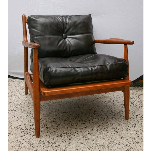 Conant Ball Teak Chair by Conant Ball, 1950s, Usa For Sale - Image 4 of 9