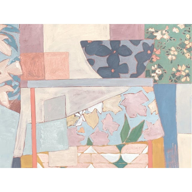 Amongst the Chaos, Contemporary Interior Painting by Taelor Fisher For Sale
