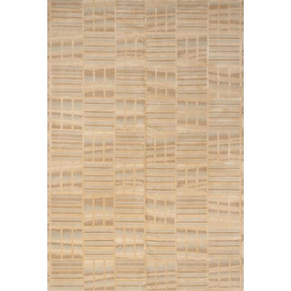 Schumacher Oceania Area Rug in Hand-Knotted Wool Silk, Patterson Flynn Martin For Sale