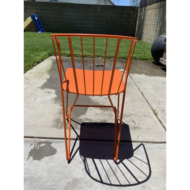 Contemporary Fermob Flower Patio Chairs For Sale - Image 3 of 6