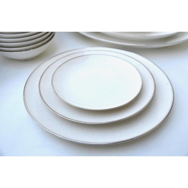 Noritake Lorelei Fine China Set - Set of 80 For Sale - Image 9 of 12