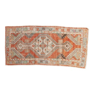 "Vintage Distressed Oushak Rug Runner - 2'7"" X 5'3"""