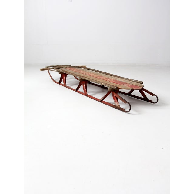 1950s Champion Sno-Liner Sled For Sale - Image 4 of 9