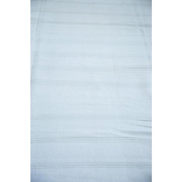 "Vintage Striped Flatwoven Carpet - 10' X 10'6"" - Image 5 of 5"