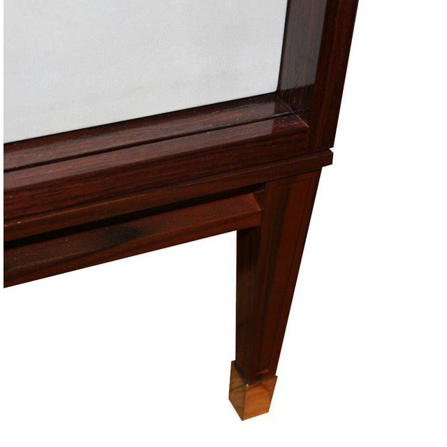 Ryan Parchment Door Rosewood Console For Sale In New York - Image 6 of 10