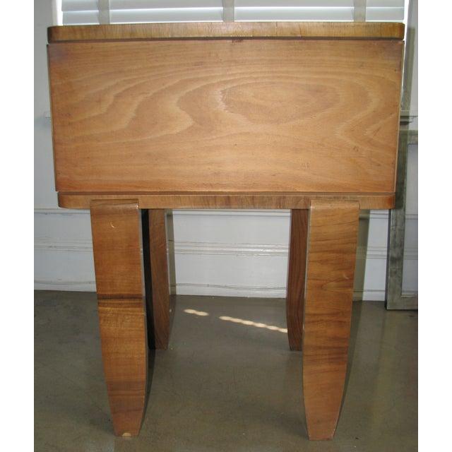 French Art Deco Burl Wood Cabinet / Liquor Bar - Image 11 of 11