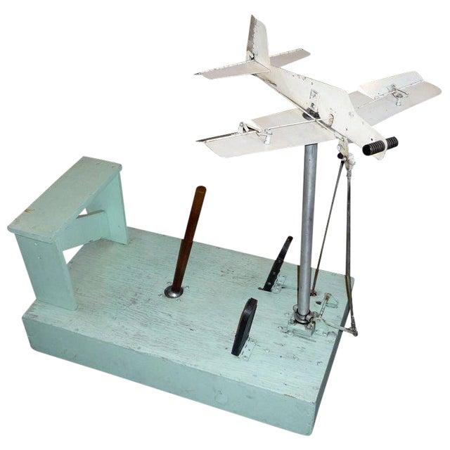 1930's Mechanical Flight Simulator For Sale