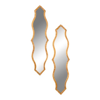 Contemporary Betsy Wall Mirrors - A Pair For Sale