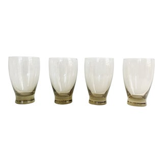 Mid Century Modern Boho Ombré Cocktail Glasses - Set of 4
