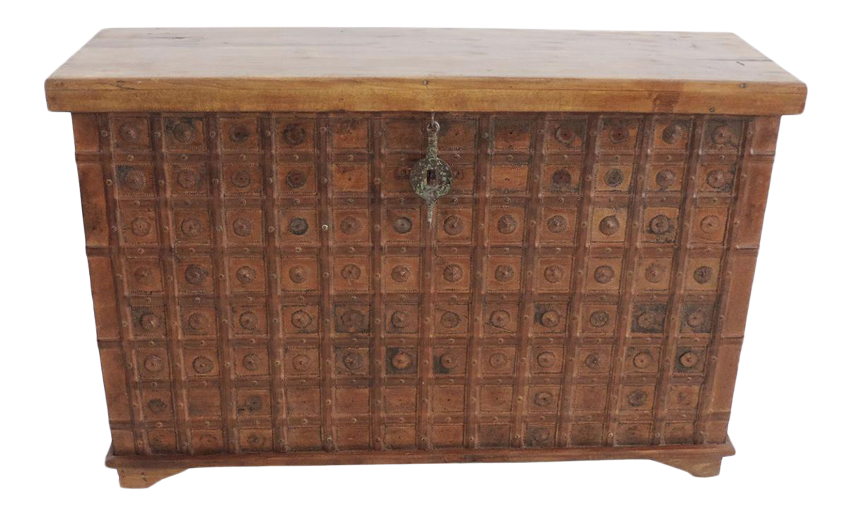 Vintage Dowry Chest/Trunk For Sale