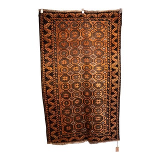 "Early 20th Century Afghan Beluch Rug-4'1'x6'6"" For Sale"