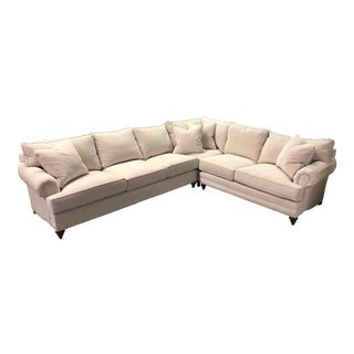 Century Furniture Three Piece Sectional For Sale