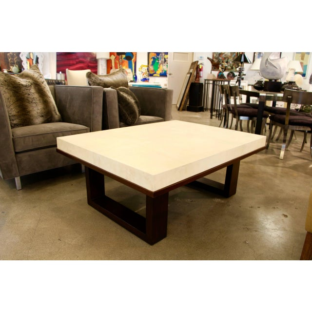 Paper Beautiful Parchment Top Table by Christopher Kennedy For Sale - Image 7 of 10
