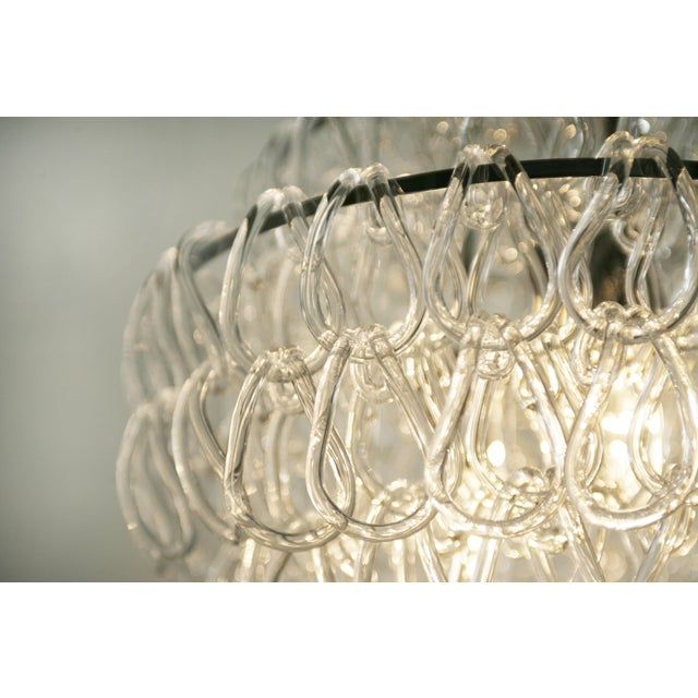 Giogali Style Blown Glass Chandelier - Image 5 of 5