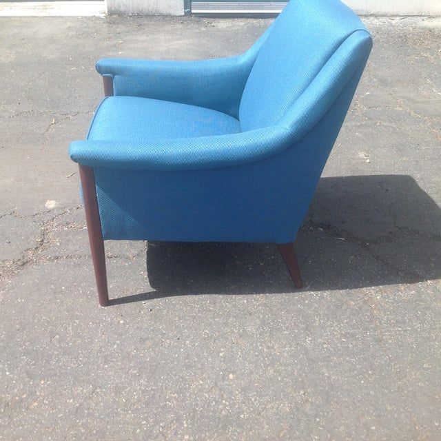 Mid-Century Style Club Chair For Sale - Image 5 of 5
