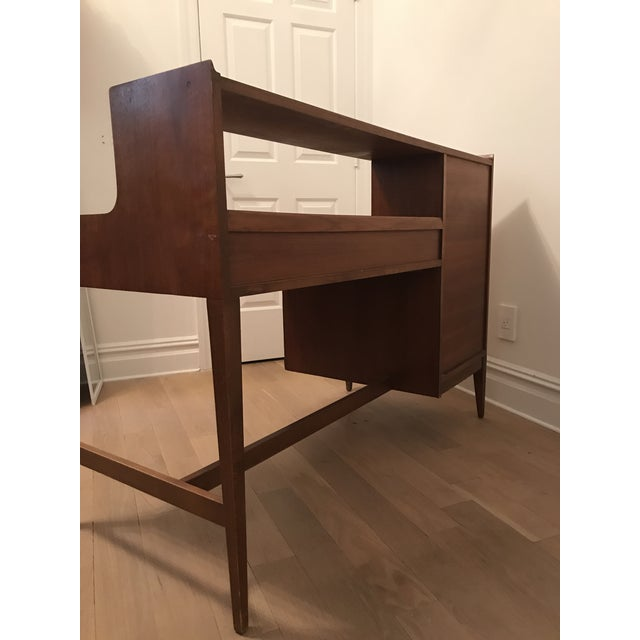 Cavalier Mid-Century Walnut Desk - Image 6 of 8