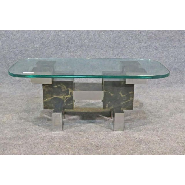 Paul Evans Style Coffee Table For Sale In New York - Image 6 of 6
