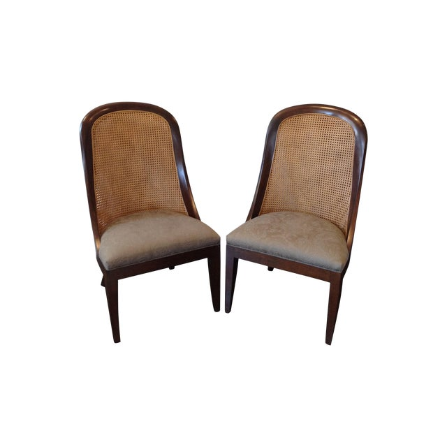 Hickory Chair Co. Caned Back Side Chairs - Pair - Image 1 of 11