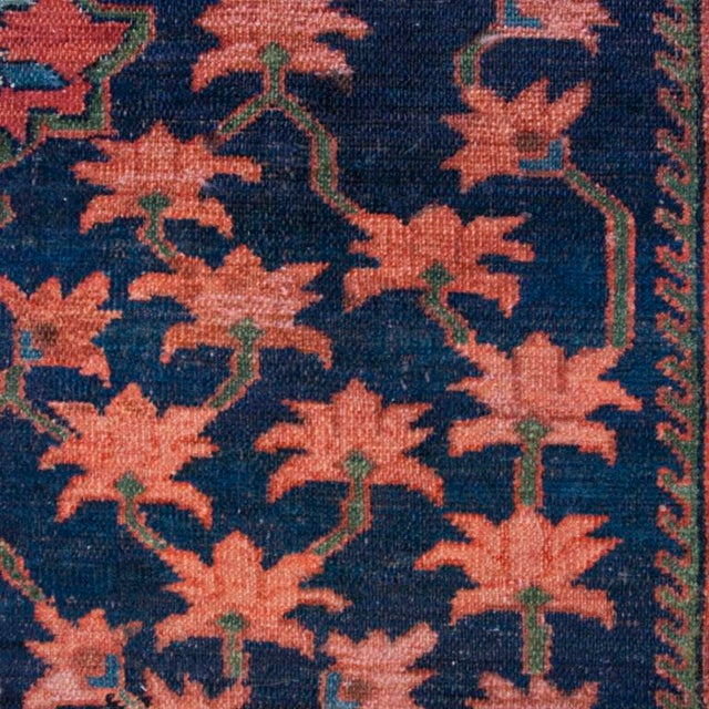 Mid 19th Century 19th Century Nahavand Carpet - 5′ × 6′5″ For Sale - Image 5 of 5