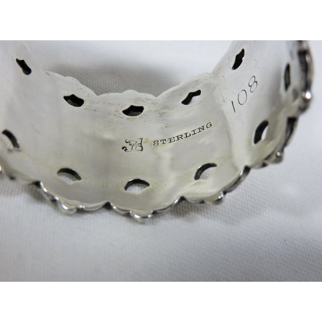 Late 19th Century Antique Towle Silver Company Napkin Ring For Sale In Boston - Image 6 of 7