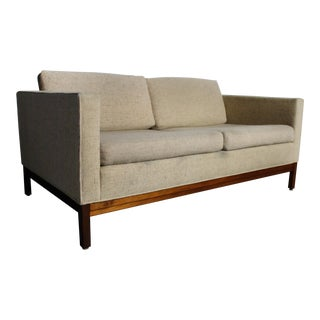 Mid-Century Modern Loveseat by Johnson Furniture Company For Sale