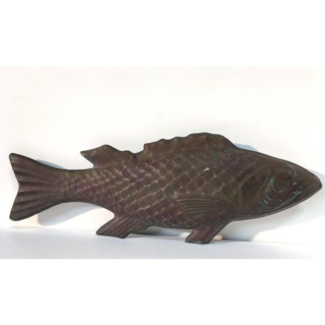 Molded Copper Codfish Weathervane - Image 3 of 9