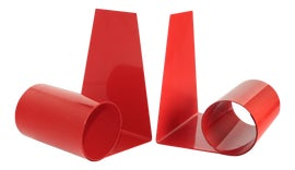 Image of Red Bookends