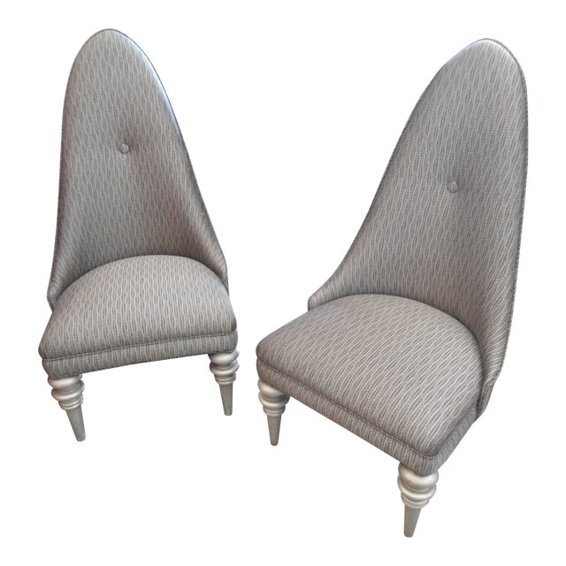 Alison K. Pollack Vintage Side Chairs - A Pair - Image 1 of 5