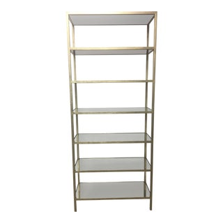 Contemporary Lillian August for Hickory Pickford Tower Bookcase For Sale