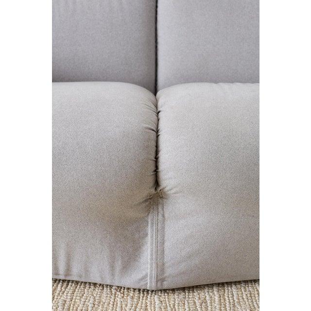 Mario Bellini for Cassina Tentazione Upholstered Sofa For Sale - Image 10 of 13