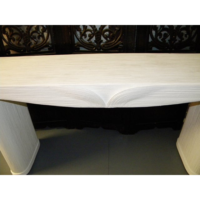 Vintage Large Neoclassical Console Table For Sale In San Francisco - Image 6 of 11